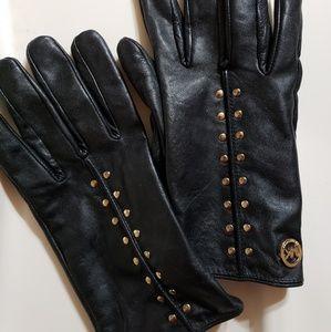 Michael kors studded gloves
